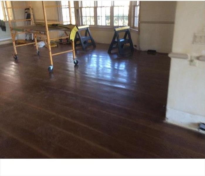 Restoring old flooring After