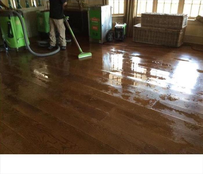Restoring old flooring Before