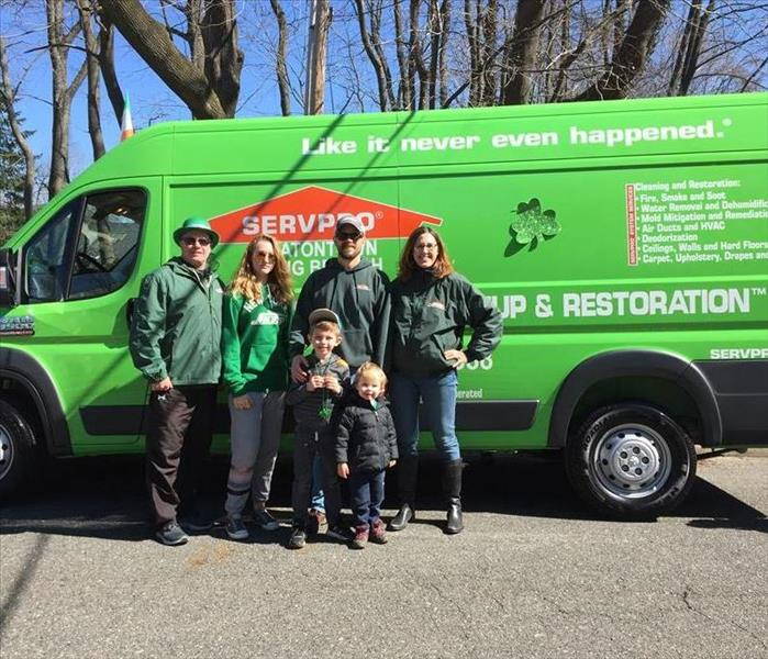 SERVPRO of Eatontown/Long Branch Marches in Parade