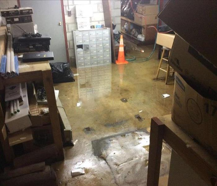Water Damage Groundwater Basement Flooding